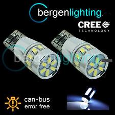 2x W5W T10 501 can bus blanco libre de errores 18 Smd LED alto nivel