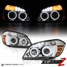 """EURO CHROME"" Chevy 2005-2010 Cobalt 2D/4D Halo Rim Projector LED Headlight Lamp"