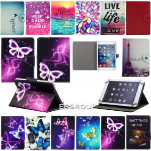 """Universal Stand Leather Cover Case For 7"""" 8"""" 10""""Inch Samsung Galaxy Tab A Tablet"""