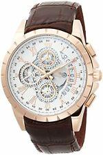 Salvatore Marra Men Watches Chronograph Quartz Leather Belt SM13119S-PGWH