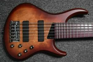 MTD Kingston Andrew Gouche Signature (6-String), Maple Burl Top with Purpleheart