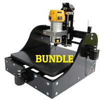 MillRight CNC Machine Kit, Black, Full Bundle with DeWalt Router and Mount