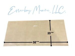 "Marine Grade Padded Vinyl Brisa Heritage with White Scout Logo 56"" x 25"""