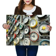 A2 | Manometers Of Reactor Chernobyl - Size A2 Poster Print Photo Art Gift #2349