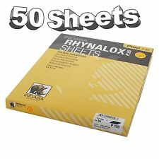 Indasa Rhynalox Plusline Production Paper P120 grit Sand Paper Sheets Pack 50
