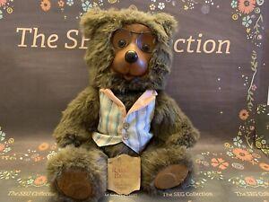 "Robert Raikes Bear #17015 ""Jason"" Home Sweet Home w/ Tag 1988 Vintage #72/10k"