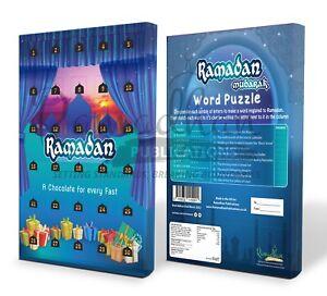 Ramadan Countdown Chocolate Calendar Official /Ramadan Advent Calendar PRE-ORDER
