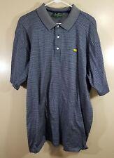 Amen Corner Men The Masters Polo Short Sleeve Shirt Size XL Cotton Golf