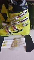 NEW FISCHER RC4 Podium 100 World Cup Jr Youth Junior Ski Boots  Size23.5  UNISEX