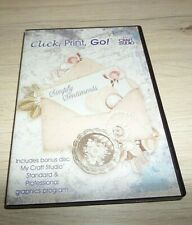 CLICK PRINT GO SIMPLY SENTIMENTS CRAFT DVD AND GRAPHICS PROGRAM