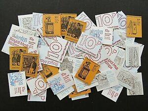 GREAT BRITAIN - FINE COLLECTION OF  60 x EARLY DECIMAL10p BOOKLETS