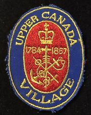 UPPER CANADA VILLAGE Patch Morrisburg Ontario CANADA Resort Travel Hiking Biking