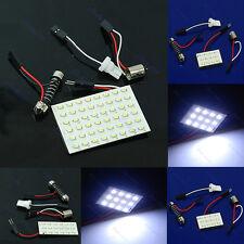 White 12/18/36/48 LED 1206 SMD Interior Light Panel Car T10 Festoon Adapter Hot