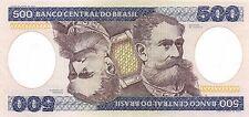 Brazil 500  Cruzeiros ND. 1981  P 200a   circulated  Banknote