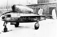 WW2 Picture Photo Henschel Hs 132 Dive bomber and Interceptor 3136
