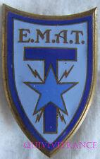 IN8072 - INSIGNE Ecole Militaire Annexe des Transmissions, émail