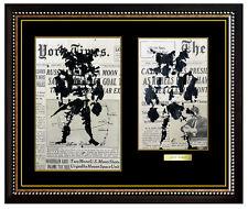 2 LEROY NEIMAN Original PAINTING Gouache Signed Sports Matador Art OIL Toreador