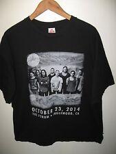 Hillsong Concert Tee - 2014 Inglewood California USA The Forum Black T Shirt 2XL