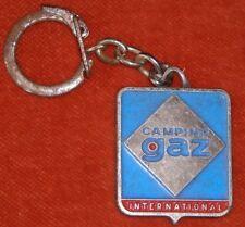 Porte-clé Key chain Camping GAZ International DOMINO Réchaud PILOTE émail enamel