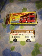 VTG NIP New Matchbox The Londoner #17 Impel 76 Trade Fair Toy Car Bus 1971-72