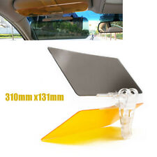 Day Night Anti Glare Visor Clip Sunshade Driving Vision Car Safety 310mm x131mm