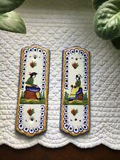 Antique Quimper Door Plaques