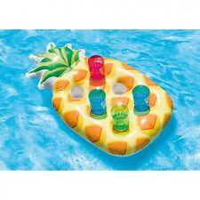 Intex Ananas Pool Getränkehalter für 6 Becher aufblasbar schwimmende Getränke