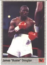 Buster Douglas Boxing Card - 1991 AW All World Prototype #2