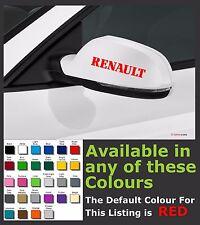 RENAULT Premium Mirror Decals Stickers x 2