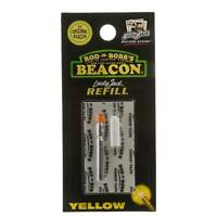 Rod-N-Bobb's Lucky Jack Battery Refill / Recharges - Single Pack Yellow - Jaune