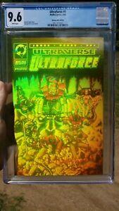 Ultraforce #1 Cgc 9.6 hologram gold cbcs