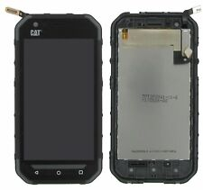 100% Original CAT S30 Display LCD Touchscreen Black Schwarz A-Ware