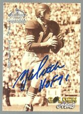 "Y.A. Tittle 1994 Signed QB Legends Card W/""HOF 71 Inscription 100% GUARANTEED"