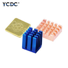 For Raspberry Pi 3 B+ 3B Pi 2 Pi B+ Cooling Aluminum Copper Heatsink Kit 3Pcs B