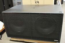 "EAW LA128zR Subwoofer NEW! Eastern Acoustic Works LA128 Dual 18"" Sub"