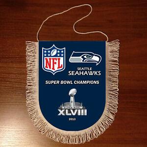 Pennants Seattle Seahawks SUPER BOWL CHAMPIONS NFL USA 1966-2020