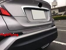 For Toyota C-HR 2016 2017 ABS chrome Rear Trunk Strip Garnish Trim 1pcs