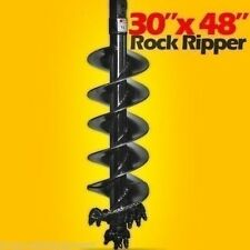 "30"" Pengo Rock Ripper Bit,Fits Skid Steers w/Hex Drive,Extreme Duty"