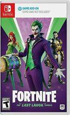 Fortnite: The Last Laugh Bundle + 1000 V-Bucks (Nintendo Switch) Joker / Midas