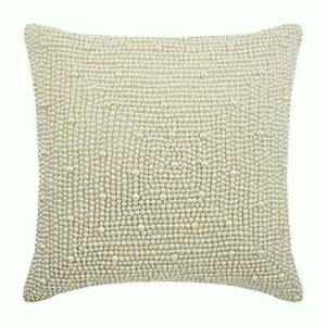 16x16 inch Ivory Luxury Throw Pillow Silk, Pearl - Pearl World