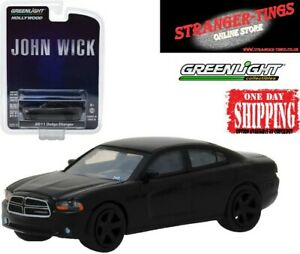 GREENLIGHT #44790-E JOHN WICK  2011 Dodge Charger diecast car 1:64 keanu reeves