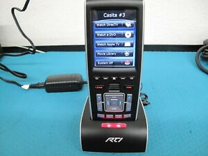 RTI T3-V+ Universal Remote Control w/ Charging Dock and Power Supply