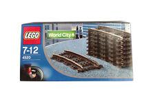"LEGO World City - 4520 - Curved Rails for 9v Trains ""Neu & OVP"""
