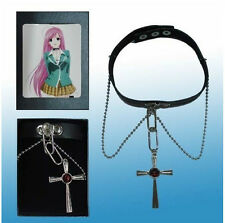 Cosplay Rosario + Vampire RosaVam Moka Akashiya Cross Necklace free shipping