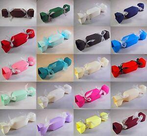Christmas Cracker Boxes - Choose Colour - Choose QTY - Xmas Box, Favour Etc