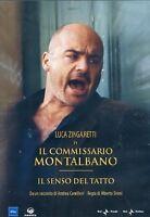 IL Commissario Montalbano Il senso del tatto DVD Nuovo Zingaretti Camilleri
