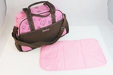 Pink Larger Baby Diaper Nappy Changing mat Mommy Tote Handbag Bag US Seller