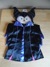 """NEW Disney Parks Duffy ShellieMay Bear Maleficent 17"""" Costume Dress up Clothes"""