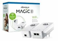 DEVOLO MAGIC 2 WIFI AC STARTER KIT MESH mit 2400 Mbit/s, Powerline, 2x Adapter