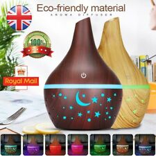 Electric Air Diffuser Aroma Oil Humidifier Night Light Up Home Relaxing Defuser